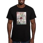 Rent Money Men's Fitted T-Shirt (dark)