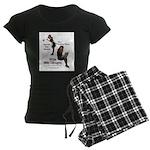 Clean Up Your Grammar Women's Dark Pajamas