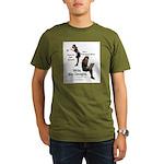 Clean Up Your Grammar Organic Men's T-Shirt (dark)