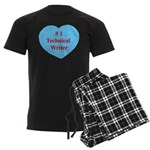 #1 Technical Writer Men's Dark Pajamas