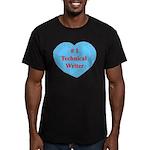 #1 Technical Writer Men's Fitted T-Shirt (dark)