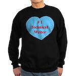 #1 Technical Writer Sweatshirt (dark)