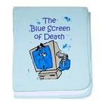 The Blue Screen of Death baby blanket