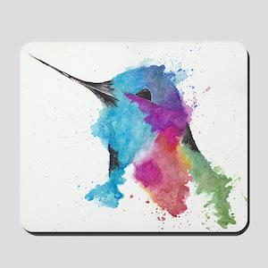 Hummingbird in Ink Mousepad