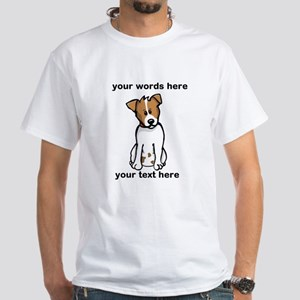 Jack Russell - Custom White T-Shirt