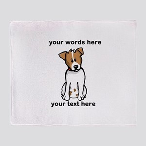 Jack Russell - Custom Throw Blanket