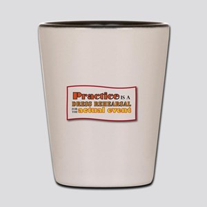 Practice Shot Glass