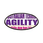 Australian Terrier Agility Patches