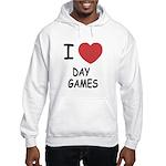I heart day games Hooded Sweatshirt