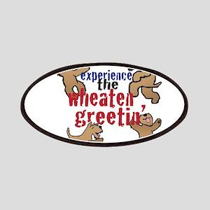 Wheaten Greetin' Patches