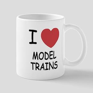 I heart model trains Mug