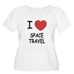 I heart space travel T-Shirt