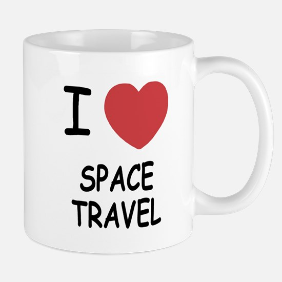 I heart space travel Mug