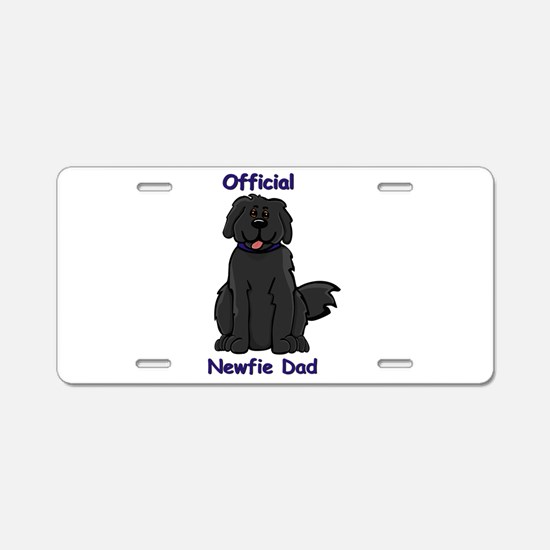 Newfie Dad Aluminum License Plate