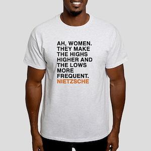 nietzsche quotes Light T-Shirt