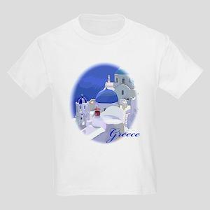 Greece Kids Light T-Shirt