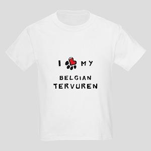 I *heart* My Belgian Tervuren Kids Light T-Shirt