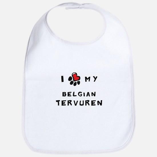 I *heart* My Belgian Tervuren Bib