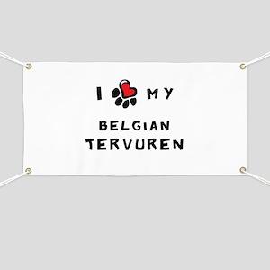 I *heart* My Belgian Tervuren Banner