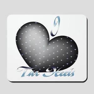 I Heart Tar Heels Mousepad