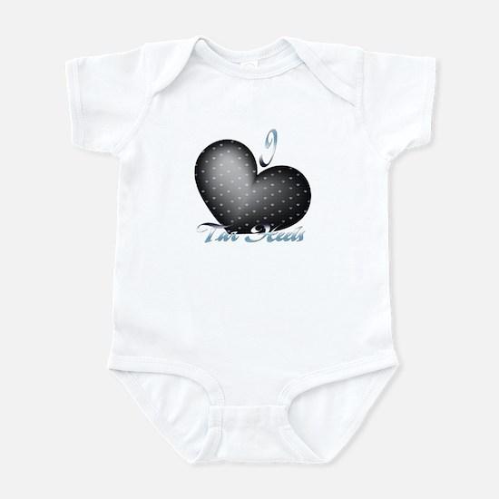 I Heart Tar Heels Infant Bodysuit