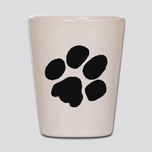 Pawprint Shot Glass