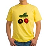 Cherries Yellow T-Shirt