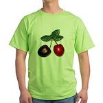 Cherries Green T-Shirt