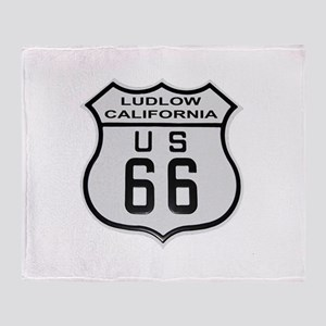 Ludlow Route 66 Throw Blanket