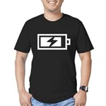 Recharge Men's Fitted T-Shirt (dark)