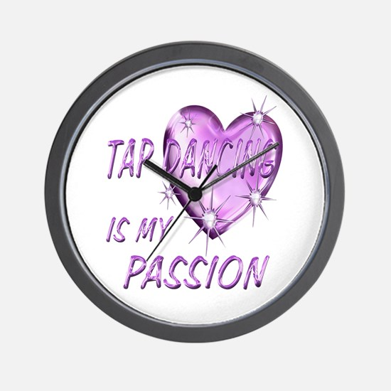 Tap Dancing Passion Wall Clock