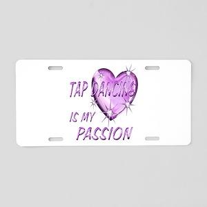 Tap Dancing Passion Aluminum License Plate