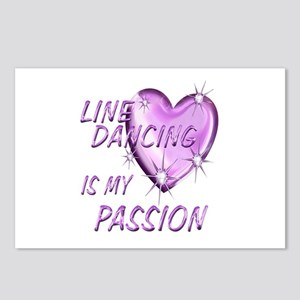Line Dancing Passion Postcards (Package of 8)