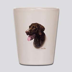 German Pointer Shot Glass