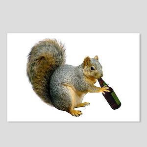 Squirrel Beer Postcards (Package of 8)