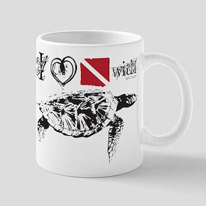Sea Turtle White Mugs