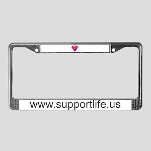 SupportLife.US License Plate Frame