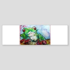 Tree Frog, Bright, Sticker (Bumper)