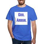 Grr. Arrgh. dark blue