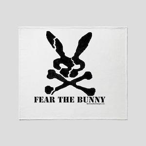 Fear the Bunny. Throw Blanket