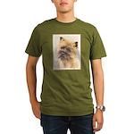 Cairn Terrier Organic Men's T-Shirt (dark)