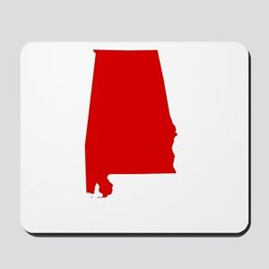 Alabama - Red Mousepad