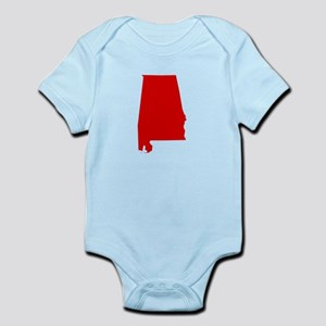 Alabama - Red Infant Bodysuit