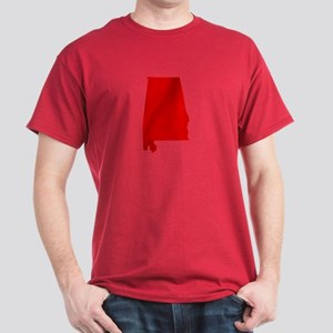 Alabama - Red Dark T-Shirt