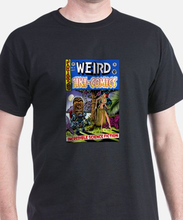 """Weird Tiki Comics # 2"" T-Shirt"