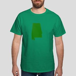 Alabama - Green Dark T-Shirt