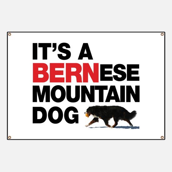 It's a BERNese Banner