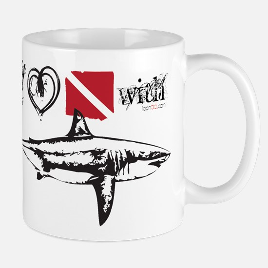 Cute Shark dolphin Mug