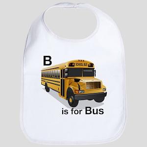 B is for Bus: School Bus Bib