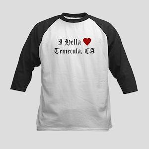 Hella Love Temecula Kids Baseball Jersey